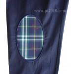 Camisa bandera España marino con cuadro escocés