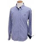 Camisa Dhispania cuadros azules