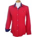Camisa mujer bandera de España rojo