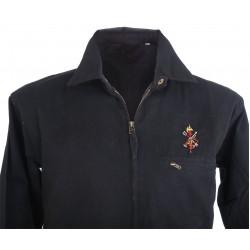 Cazadora negro bordado Legión Española