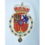 Polo Casa Real Felipe VI celeste hombre