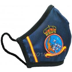 Mascarilla Patrulla Aguila marino con bandera de España
