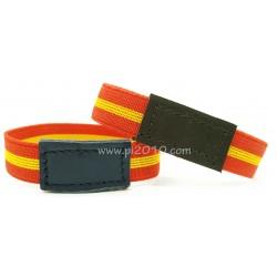 Pack pulsera elástica bandera de España