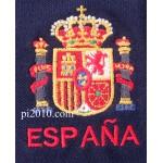 Polo Escudo Constitucional marino hombre