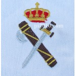 Polo Guardia Civil  blanco hombre