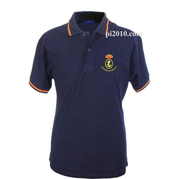Polo Armada Española marino hombre