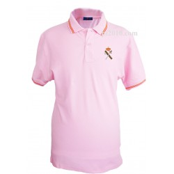 Polo Guardia Civil rosa hombre