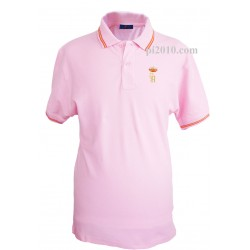 Polo Guardia Real rosa hombre