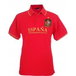 Polo Selección Española rojo hombre