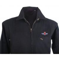 Cazadora negro bordado Ejército del Aire