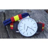 Pack pulsera cordón marino + reloj correa elástica