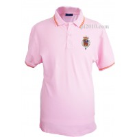 Polo Casa Real Felipe VI rosa hombre