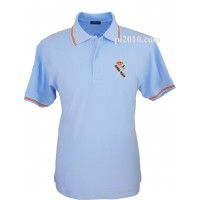 Polo Guardia Civil celeste hombre